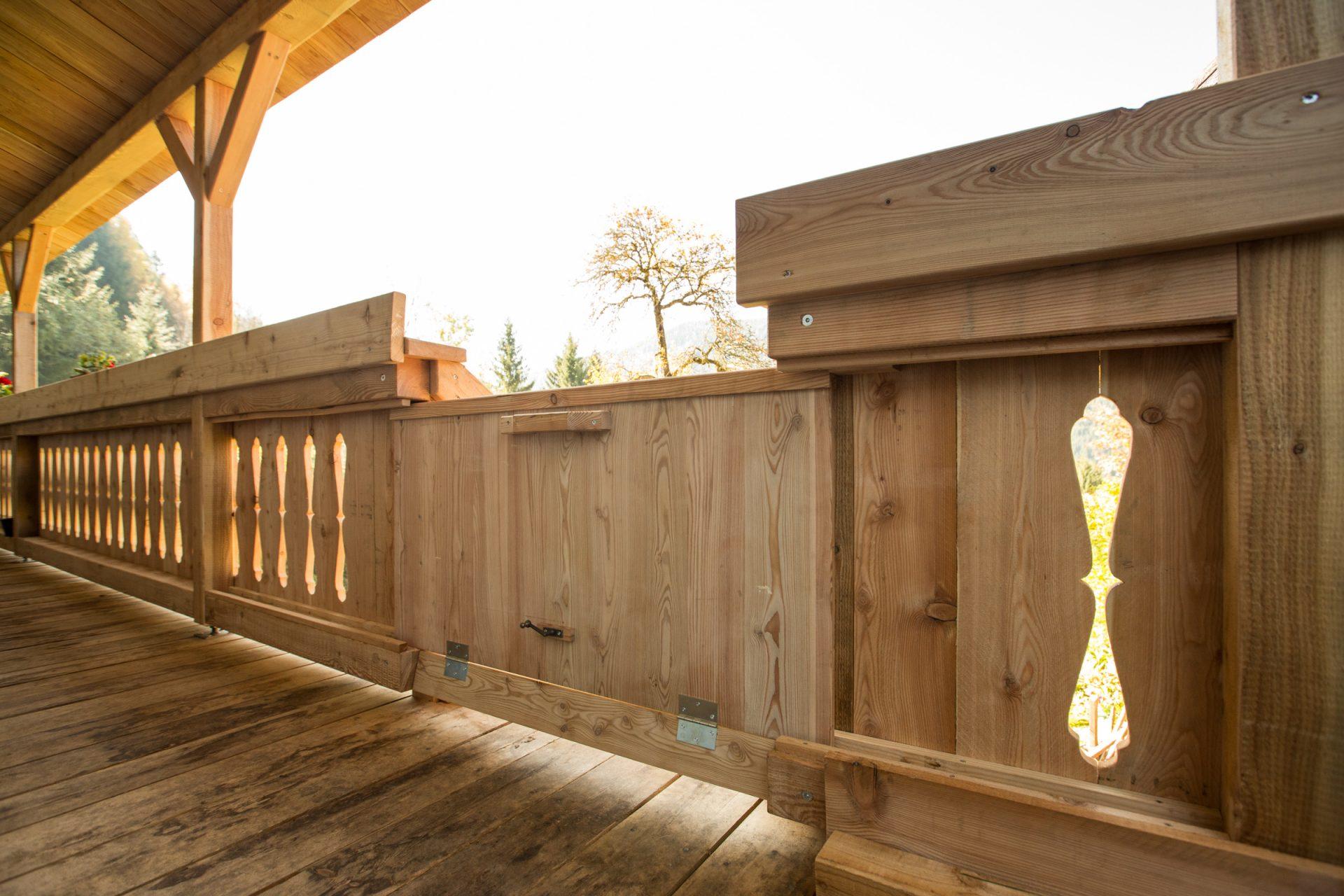 Sanierung Balkon altes Bauernhaus -